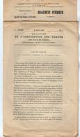 VP17.999 - PARIS 1910 - Bulletin N° 1 & Le Règlement Intérieur De L'Association Des Agents Des Eaux Et Forêts - Sammlungen