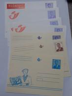 Lot De 8 Entiers Postaux Albert II - Lucky Luke - Bob Et Bobette , Etc ... Lot360 . - Autres