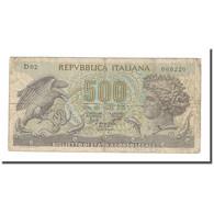 Billet, Italie, 500 Lire, KM:93a, TB - 500 Lire