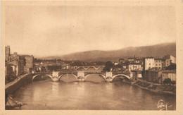 CPA Romans Sur Isère-Les Ponts     L337 - Romans Sur Isere