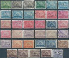 Stati Uniti D'america,United States,U.S.A,1898 Revenue Stamps  DOCUMENTARY,Lot Of 35 Stamps Mix Used - Fiscaux