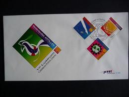 (4) Nederlandse Antillen, 2001, Caribbean Postal Union, E326, FDC See Scan - Antillas Holandesas