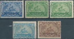 Stati Uniti D'america,United States,U.S.A,1898 Revenue Stamps PROPRIETARY & DOCUMENTARY-MINT - Fiscaux