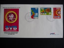 (4)  NEDERLANDSE ANTILLEN 2000 FDC E319 40 JAAR SOCIALE VERZEKERINGSBANK SVB WETTEN VAN WIEG TOT GRAF - Antillas Holandesas
