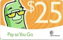 DOMINICA - PAY AS YOU GO $25 - Dominica