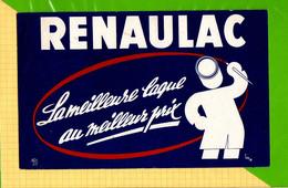 BUVARD & Blotting Paper : RENAULAC  La Meilleure Laque - Paints