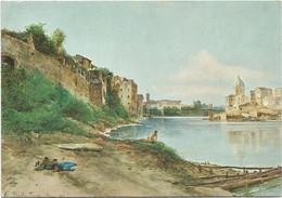 V5705 Ettore Roesler Franz - Roma Sparita - Chiesa Dei Fiorentini - Dipinto Paint Peinture - Articles Of Virtu