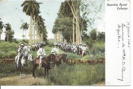 1905 - Guardia Rural Cubana, Cuba, (R159) - Cuba