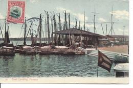 1910? - Boat Landing, Havana, Republica De Cuba, Publ. Harris Bros (R160) - Cuba