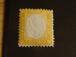 ITALIE ITALIA ITALY 1861 Neuf* 80 Cent - Nuevos