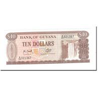 Billet, Guyana, 10 Dollars, KM:23f, NEUF - Guyana