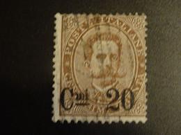 ITALIE ITALIA ITALY 1890 Oblitéré  Surchargé - Gebraucht