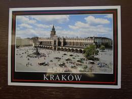 "Pologne , Kraköw , Rynek Glowny , Sukiennice """" Beaux Tempons Mécanique Postal """" - Poland"