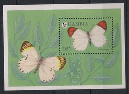 Gambia - 1994 - Bloc Feuillet BF N° Yv. 228 - Papillons / Butterflies - Neuf Luxe ** / MNH / Postfrisch - Papillons