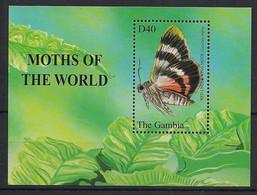 Gambia - 2002 - Bloc Feuillet BF N° Yv. 537 - Papillons / Butterflies - Neuf Luxe ** / MNH / Postfrisch - Papillons