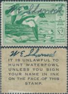 Stati Uniti D'america,United States,U.S.A,1950 Migratory Bird Hunting Stamp $2.00 ,Singed - Duck Stamps
