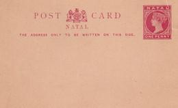 NATAL    ENTIER POSTAL/GANZSACHE/POSTAL STATIONARY CARTE - Natal (1857-1909)