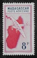 MADAGASCAR 1942 YT PA 34** - Aéreo