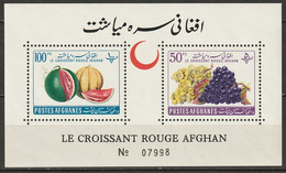 Afghanistan 1961 Sc 528-9  Sheet MNH** - Afganistán