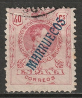 Spanish Morocco 1914 Sc 34  Used - Marruecos Español