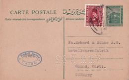 EGYPTE 1932     ENTIER POSTAL/GANZSACHE/POSTAL STATIONARY CARTE DU CAIRE - Briefe U. Dokumente