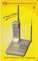 (6UPVA) TARJETA DE VIETNAM DE UN TELEFONO - Vietnam