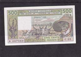 AOF    500 Fr 1990 B UNC Benin - Estados De Africa Occidental