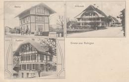 Gruss Aus Rubigen - Station, Wirtschaft, Postbüro - BE Bern