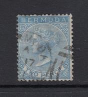 Bermuda, Scott 2 (SG 3), Used - Bermudas