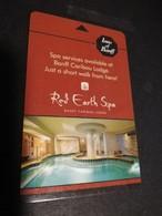 HOTELS Key Card ARUBA RED EARTH SPA BANFF CARIBOU LODGE  INSS OF BANFF   ** 5030** - Cartas De Hotels