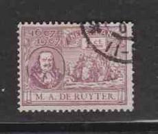 PAYS-BAS  (Y&T) 1907 - N°74   *  Tricentenaire De La Naissance De L'Amiral M.A.de Ruyter   *     1c   Obli () - Used Stamps