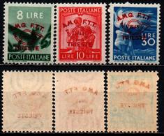 TRIESTE - AMGFTT - 1948 - CONVEGNO FILATELICO - DEMOCRATICA CON SOVRASTAMPA - MNH - Mint/hinged
