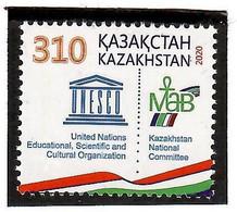 Kazakhstan 2020 .UNESCO. Kazakhstan Committee. 1v: 310 - Kazakhstan