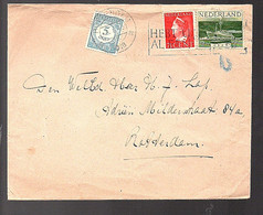 Rotterdam 1948 Adriën Mildersstraat 84 (FB-7) - Postage Due