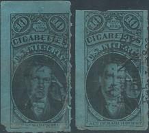 Stati Uniti D'america,United States,U.S.A,Series Of 1883 Revenue Internal Stamps Tax CIGARETTES-10c,Very Used ! - Fiscaux