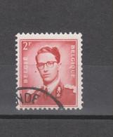 COB 925-V1 Oblitéré Point Rouge à Gauche Du Visage Cote 38€ - Errors (Catalogue COB)