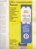 (pagine-pages)PUBBLICITA' OLIO SASSO  Amica1971/20. - Other