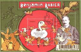 Feuillet N° YT F4866 Oblitéré 1er Jour Benjamin RABIER (4866 Et 4867) TBE, Gomme D'origine - Oblitérés