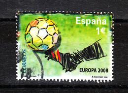 Spagna   -     2008.  Calcio: Europei.  European Football Championships. Rare, From Sheet - Europei Di Calcio (UEFA)