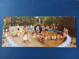 Turkmenistan, Ashkhabad Capital, Children Swimming Pool - Old Postcard - Turkmenistan