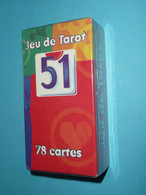 Rare Jeu De Tarot NEUF En Boite Avec Notice, PASTIS 51, Cartes Carte Alcool Tarots - Tarots