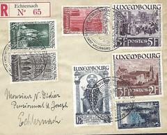 Luxembourg - Luxemburg - Lettres Recommandé 1936 Mairie De La Ville De Luxembourg - Luxembg Vers Utrecht ( Pays-Bas ) - Other