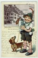 Hofbräuhaus München 1901 - Werbepostkarten
