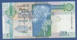 SEYCHELLES - P.36a – 10 RUPEES1998 - AUNC - SERIE AA - Seychelles