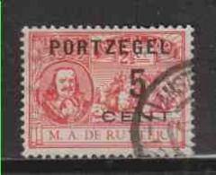 PAYS-BAS (timbres-taxe)  (Y&T) 1907 - N°31   * Timbres-poste De 1907 Avec Portzegel  *     5c Sur 2 1/2c    Obli () - Postage Due