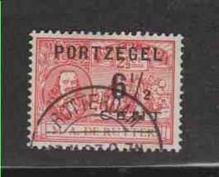 PAYS-BAS (timbres-taxe)  (Y&T) 1907 - N°32  *timbres-poste De 1907 Avec Portzegel *  6 1/2c Sur 2 1/2c  Obli (ROTTERDAM) - Postage Due