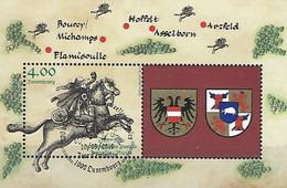 Luxembourg - Luxemburg , Timbres  -  2016   Bloc  Asselborn - Blocks & Kleinbögen