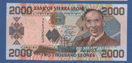 SIERRA LEONE - P.26c – 2.000 LEONES 2006 - UNC - Sierra Leone