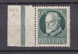 Bayern - 1916 - Michel Nr. 102 Rand - Postfrisch - Bavaria