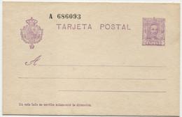 Ed 57. Entero Postal Nuevo - 1850-1931